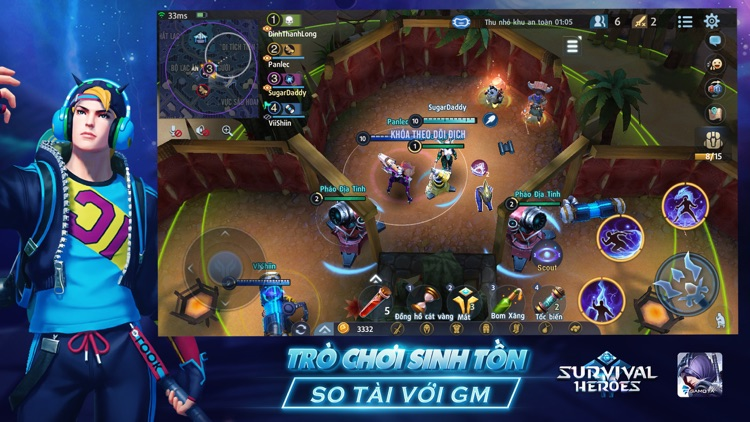 Survival Heroes Gamota screenshot-4