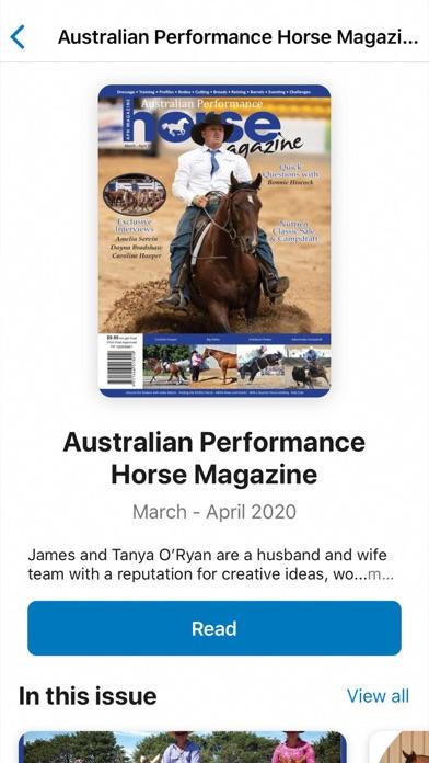 Australian Performance HorseScreenshot of 5