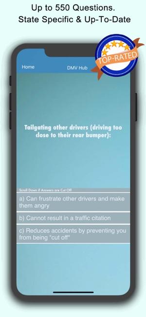 DMV Hub Permit Practice Test En App Store