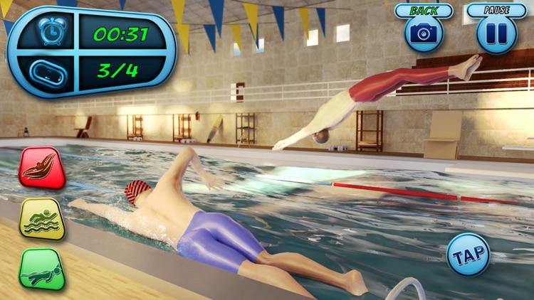Swimming Pool Race Stunts 2020 screenshot-3