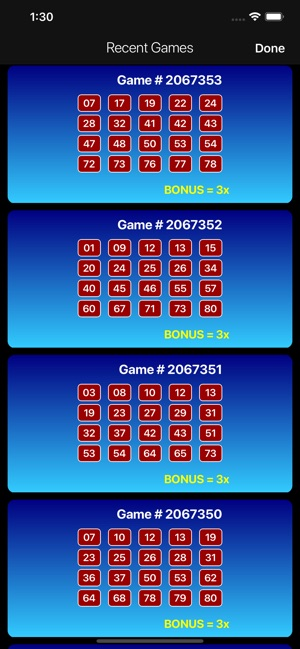 Keno Pro: Scan Lottery Results on the App Store