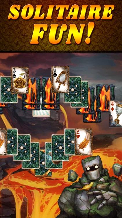 Shadow Kingdom Solitaire screenshot-6