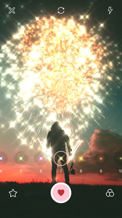 Glitter Cam-Sparkle for Kira screenshot-3