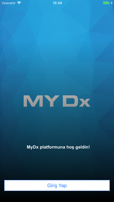 MyDx screenshot one