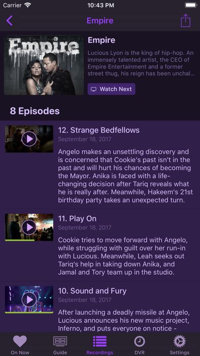 Channels DVR screenshot 4