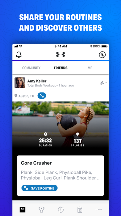 Map My Fitness - GPS Workout Trainer for Fitness, Step and Activity Tracking screenshot