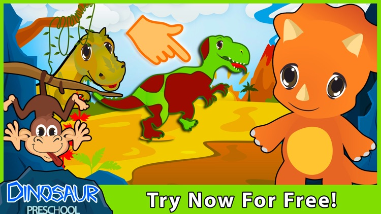 Dinosaur Puzzles for Toddlers! screenshot-4