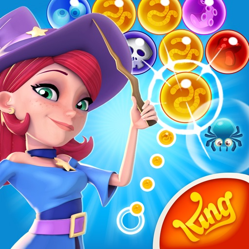 Bubbles! Cats! Witches! Bubble Witch Saga 2 is Out Now