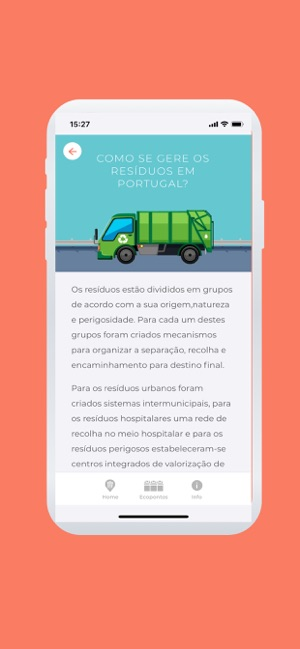 ‎WasteApp Screenshot