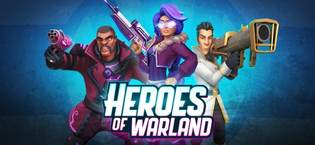 Heroes of Warland: Team FPS on the App Store