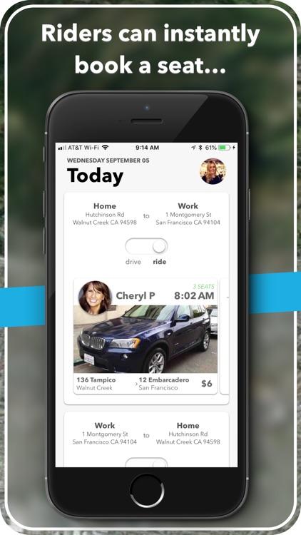 carzac - carpool made easy. screenshot-4