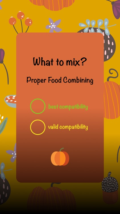 Compatible : Food