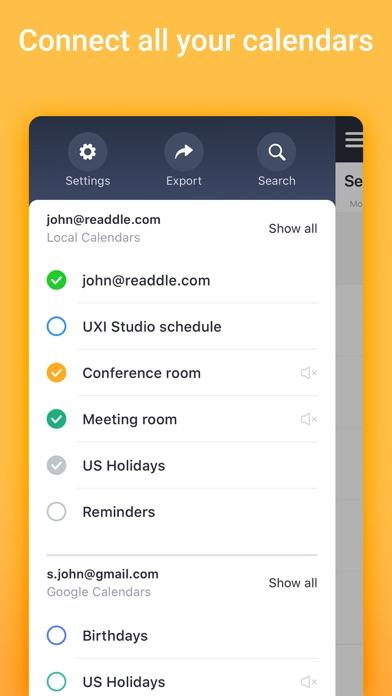 Calendars 5 by Readdle Screenshot on iOS