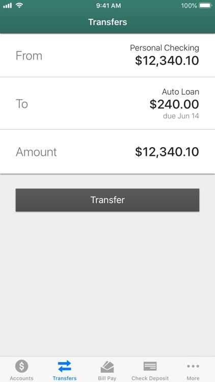 Triangle CU Mobile Banking screenshot-3