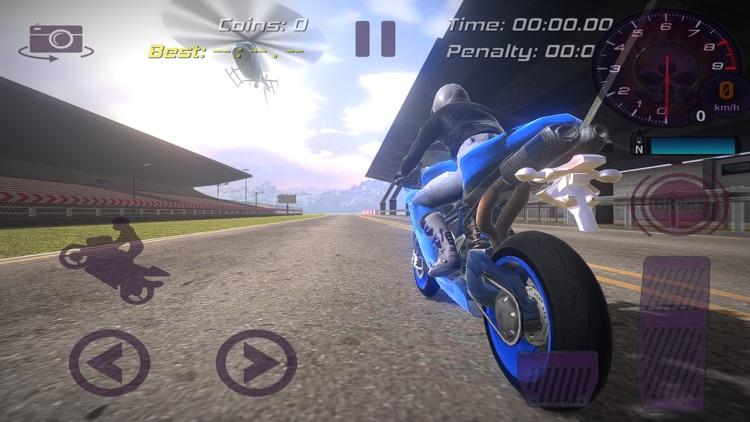 Dirt Bike Rider Stunts Race 3d screenshot-3