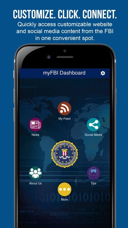 myFBI Dashboard
