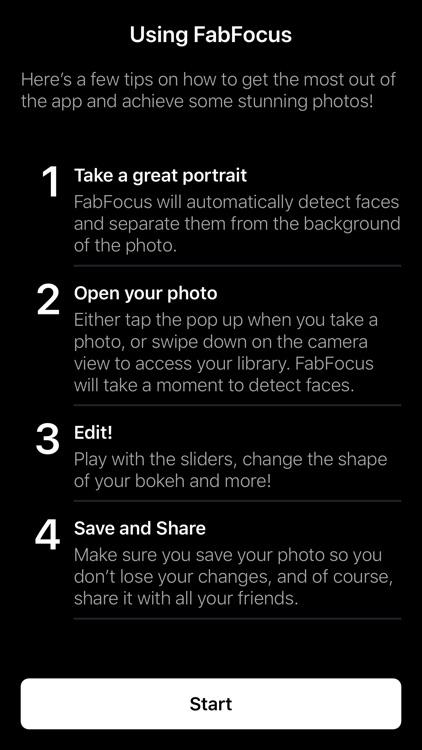 FabFocus - Portrait Mode Blur screenshot-6