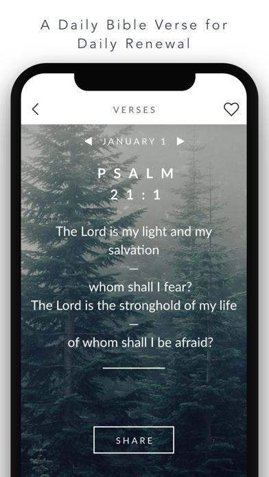 Daily Bible Verse Inspirations Screenshot