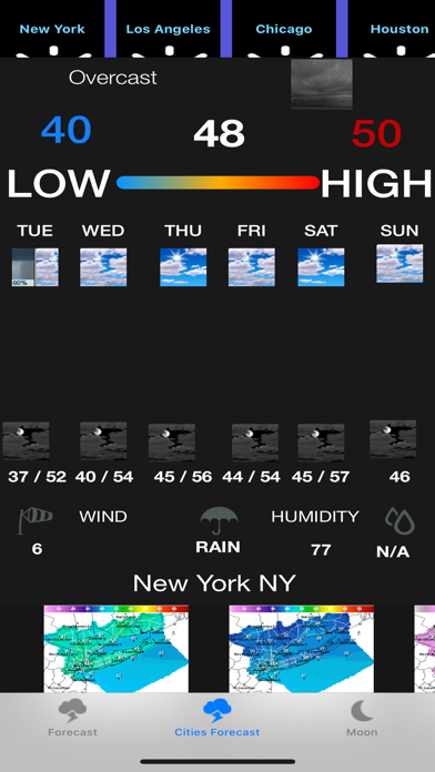 Instant NOAA Forecast Pro screenshot 2