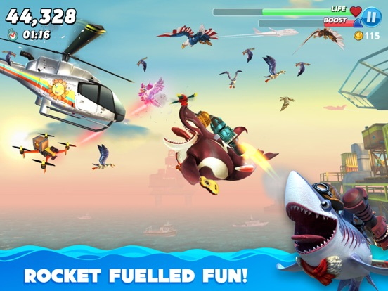Hungry Shark World-ipad-3