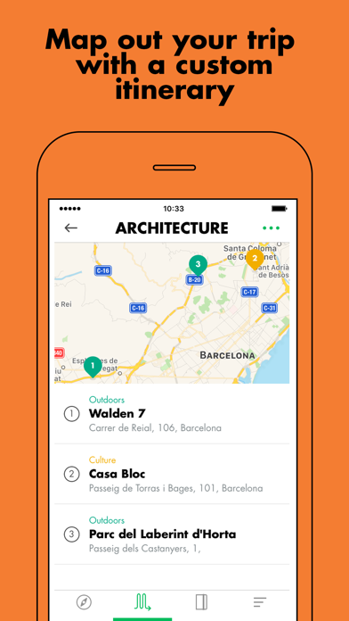 LOST iN City Guide Screenshot