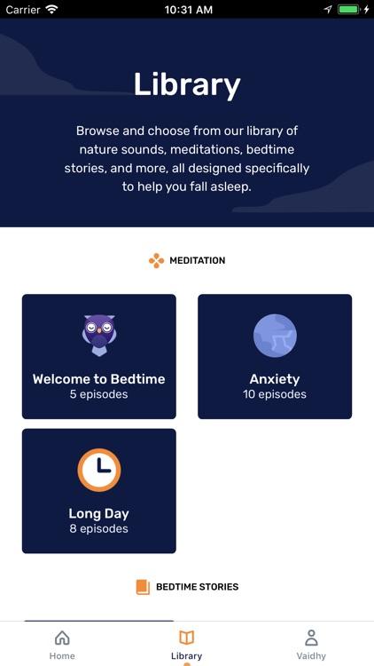 Bedtime - Stories & Meditation