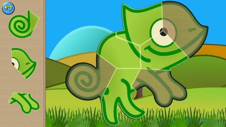 Dino Puzzle Kid Dinosaur Games screenshot-3