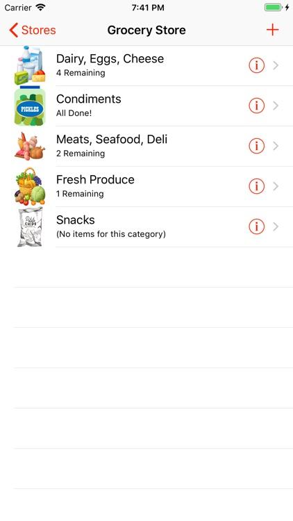Organized Shopper screenshot-6
