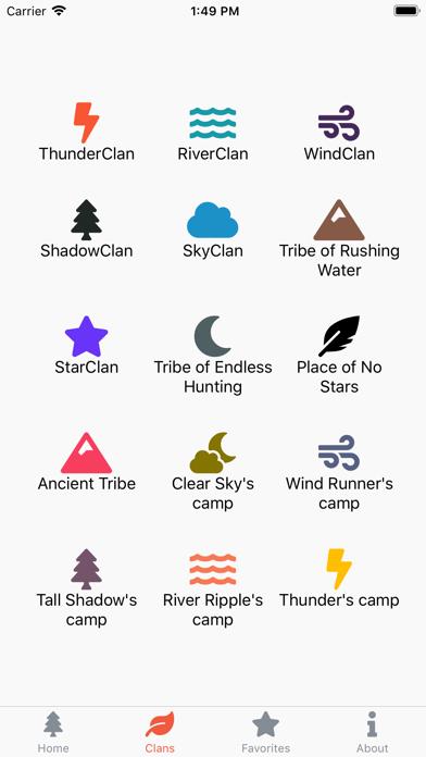 Warriors Characters screenshot 3
