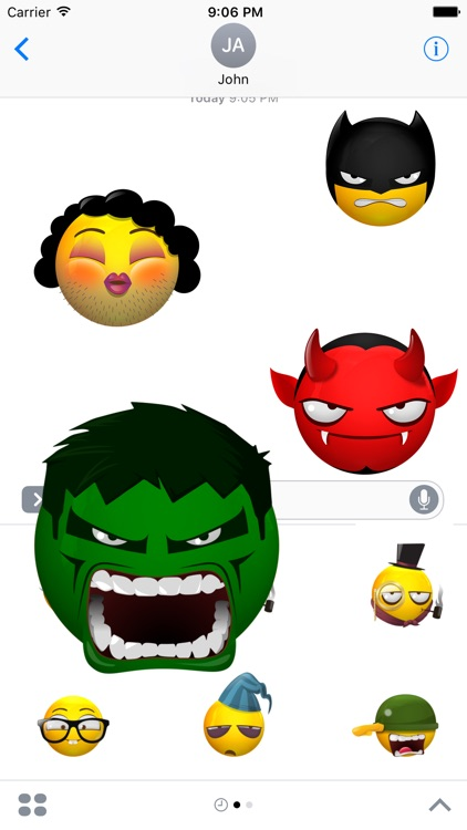 Animated Emoji Characters