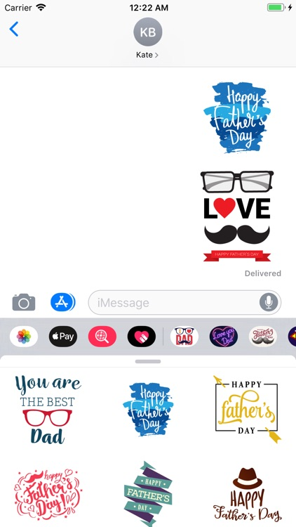 Best Father's Day Stickers App