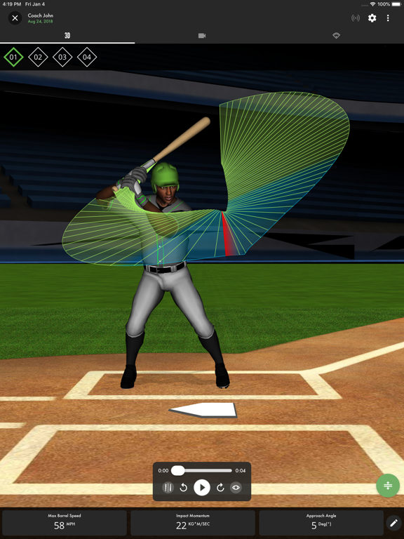 SwingTracker screenshot