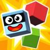 パンゴ大爆発 - キューブの積み重ねと破壊子供ゲーム