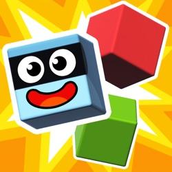 Pango KABOOM! 3-6岁儿童的方块堆叠和破坏游戏