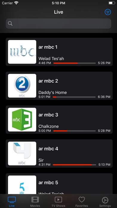 iProTV for iPtv & m3u content screenshot 2