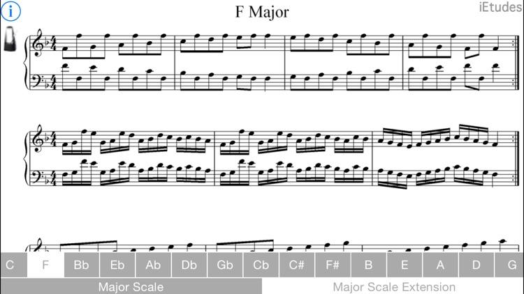 Major Scales Piano screenshot-4