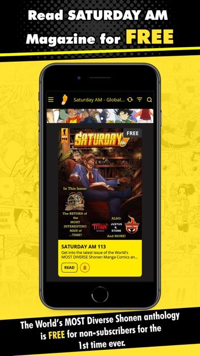 Saturday AM - Global Comics Screenshot