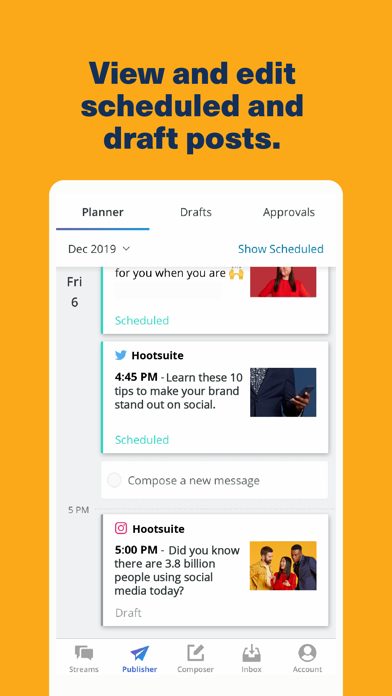 Hootsuite review screenshots
