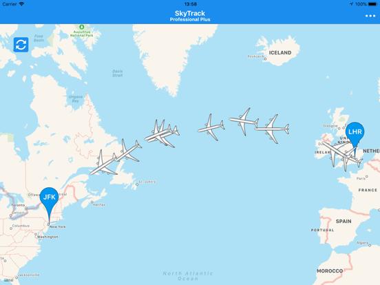 SkyTrack - The Flight Tracker-ipad-4