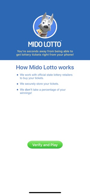 Mido Lotto: Play the Lottery on the App Store