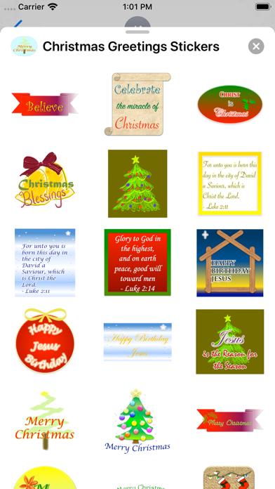 Christmas Greetings: Stickers screenshot 2