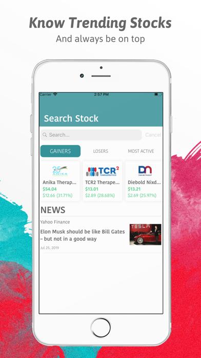 Virtual Stock Market Game Screenshot