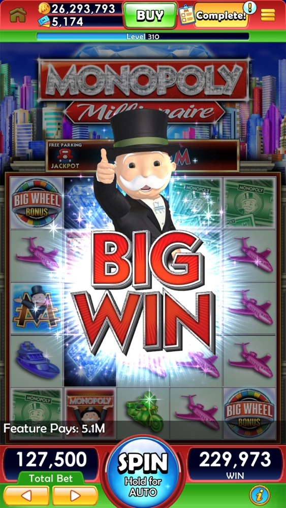 MONOPOLY Slots App for iPhone - Free Download MONOPOLY Slots for