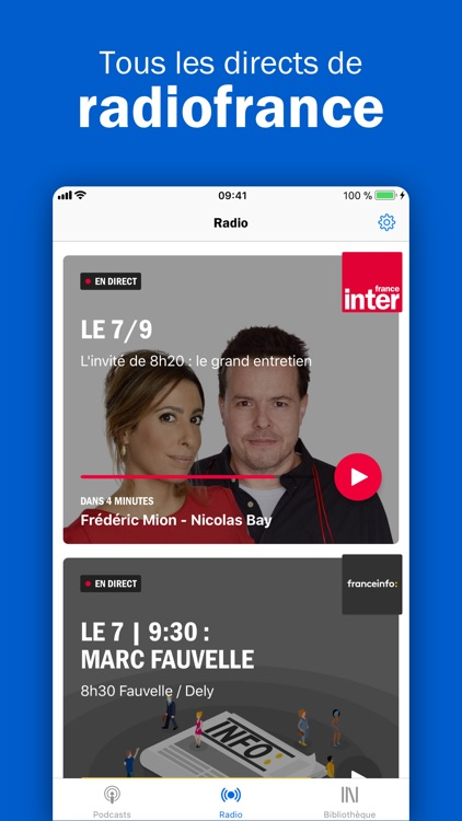 Radio France - podcast, infos