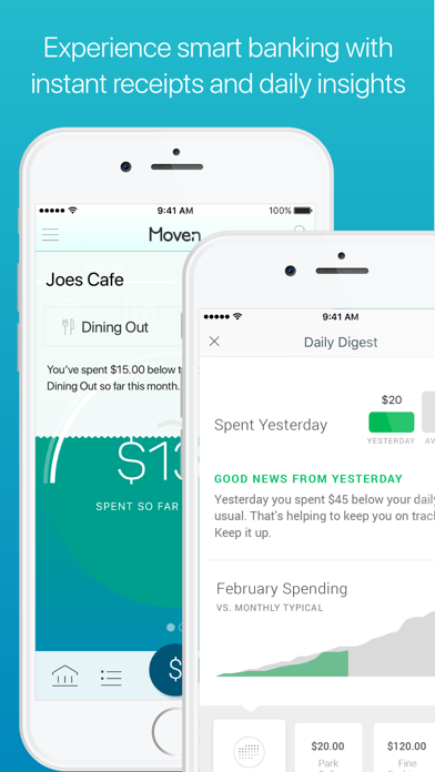 Moven - Smart Mobile Banking by Movencorp, Inc  (iOS, United States