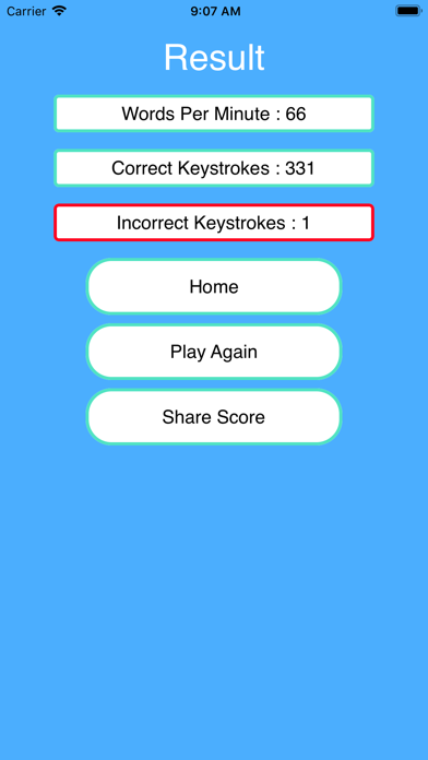 Speed Master - Typing Test screenshot three