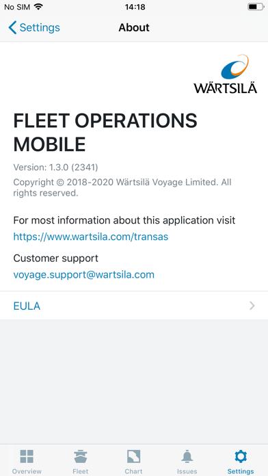 Fleet Operations Mobile Screenshot