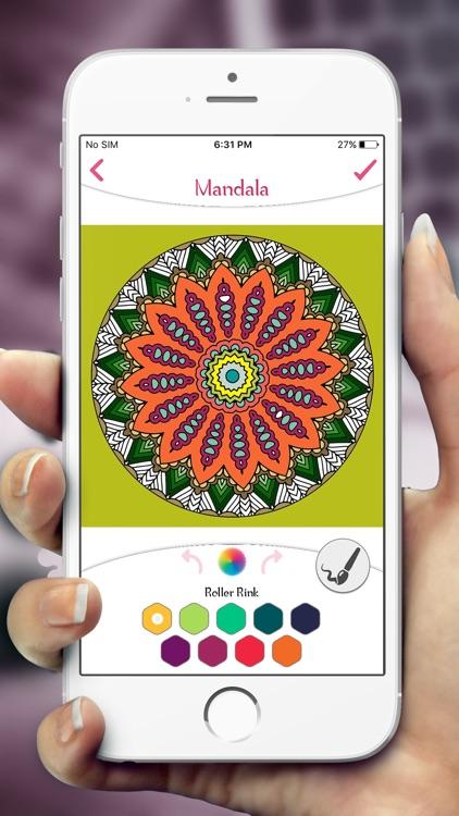Mandala Coloring Book Pages screenshot-5