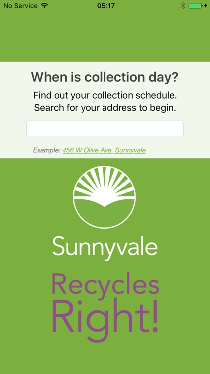 Sunnyvale Recycles Right