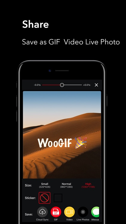 WooGIF Pro-Make Live GIF Video screenshot-3